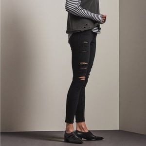 AG Adriano Goldschmied Legging Ankle Distressed